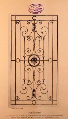 Window Grill Design Modern, Balcony Grill Design, Grill Door Design, Balcony Railing Design, House Gate Design, Door Gate Design, Metal Gates, Wrought Iron Fences, Wrought Iron Wall Decor