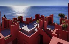 La Muralla Roja by Ricardo Bofill Taller de Arquitectura