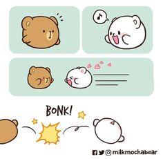 Cute Panda Drawing, Cute Bear Drawings, Kawaii Drawings, Cute Love Memes, Cute Love Gif, Cute Love Cartoons, Cute Cartoon Wallpapers, Cartoon Pics, Shadow Portraits