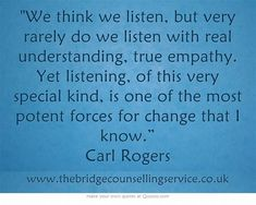 Pin Carl Rogers Quotes On Empathy on Pinterest