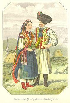 Hungarian Folk Costumes: Kalotaszeg region, /kalotaszegi népviselet