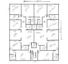 ..!! Home Map Design, Home Design Floor Plans, Plan Design, House Design, House Layout Plans, Dream House Plans, House Layouts, House Floor Plans, House Map