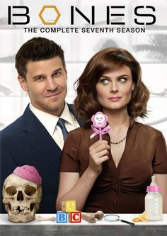 "David Boreanaz (FBI agent Seeley Booth) & Emily Deschanel  (forensic anthropologist Dr. Temperance ""Bones"" Brennan)  Fox TV series ""Bones"""