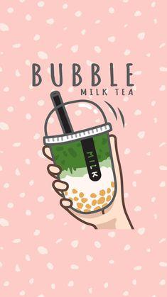 Tea Wallpaper, Wallpaper Doodle, Kawaii Wallpaper, Cute Wallpaper Backgrounds, Wallpaper Iphone Cute, Cute Food Drawings, Cute Cartoon Drawings, Cute Kawaii Drawings, Kawaii Art