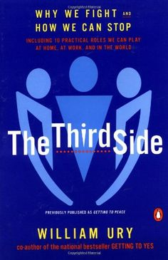 The Third Side: Why We Fight and How We Can Stop by William L. Ury http://www.amazon.com/dp/0140296344/ref=cm_sw_r_pi_dp_ZqQ1tb119S2WGDCB