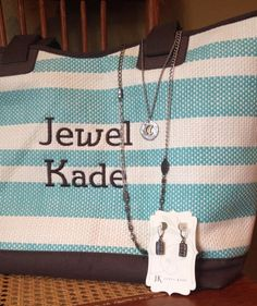 Accessorize with JK by Thirty One! Beautiful!