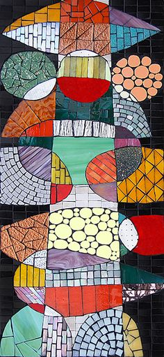 Homage to Rex Ray by Sophie Robins Mosaics