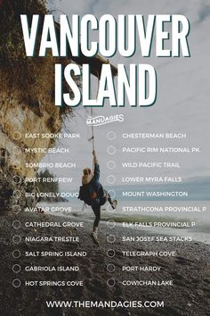 The Complete Vancouver Island Road Trip Itinerary (All The Best Stops!) - The Mandagies Oh The Places You'll Go, Places To Travel, Travel Destinations, Vancouver Travel, Victoria Vancouver Island, Canada Travel, Canada Trip, Adventure Is Out There, British Columbia