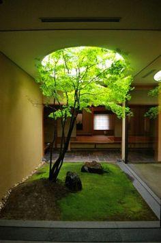 30 Amazing Modern Japanese Garden Design Ideas (for Home, Office, etc. Home Garden Design, Interior Garden, Home Interior Design, Home And Garden, House Design, Garden Leave, Japanese Garden Design, Japanese Gardens, Japanese Architecture