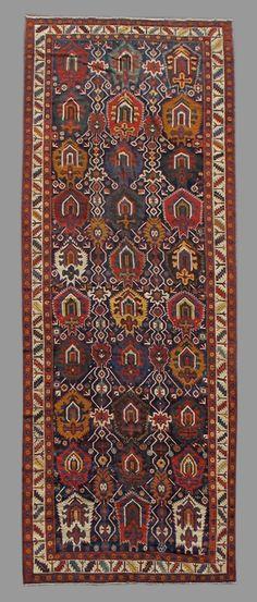 Northwest Persian gallery carpet, 19th C (3rd Q)