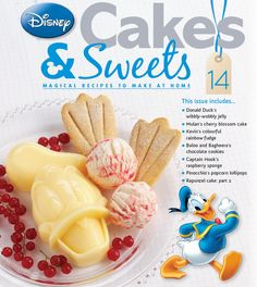 Issue 14 and Donald Duck's wibbly-wobbly jelly. #disneycakes