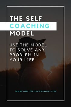 The Self Coaching Model can help you solve any problem you have by helping you understand that your thoughts create your feelings, which drive your actions, which create the results you see in your life. The Life Coach School, Soul Contract, Life Coach Certification, Life Coaching Tools, Thoughts And Feelings, Ted Talks, Like A Boss, Studying, Self Improvement