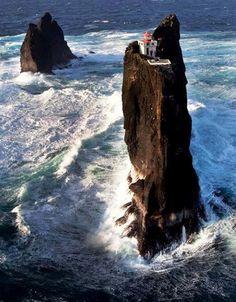 Þrídrangaviti Lighthouse, Iceland