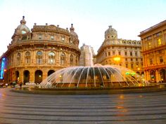 The best of Genoa, Italy: A great city to visit as well, so don't overlook it. The lack of tourists and the ease of getting around are two great reasons to come here. Plus, of course, the beauty of the region.