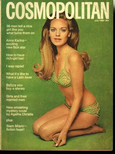 Cosmopolitan magazine, JULY 1969 Model: Aino Korva