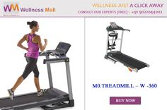 Christmas Special Get 15% Discount insantly on every product of Wellness Mall Buy M0.TREADMILL – W -360 - Wellness Mall Visit http://goo.gl/hD3i3k Tel : 9022044002 Price : ₹55,000.00 Sold by: AVISION FITNESS - MUMBAI SKU: W.360. Category: Treadmills