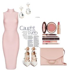 """""""Untitled #126"""" by noor-alhoda on Polyvore featuring Posh Girl, Gianvito Rossi, Victoria Beckham and Charlotte Tilbury"""