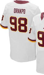 ... 78.00--Mens Nike Washington Redskins 98 Brian Orakpo Elite White NFL  Jersey 1a8ddb23b