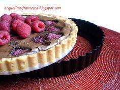 Acquolina: Crostata cioccolato e lamponi