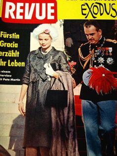 REVUE - Cover - Princess Grace and Prince Rainier