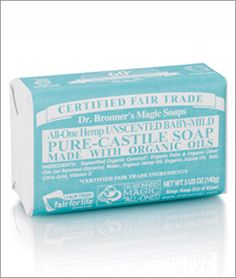 Going to try this baby soap when my mini-me arrives.