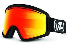 VonZipper - Cleaver Black BFC Goggles, Fire Chrome Lenses