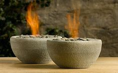 Mira, mami, ¿no querés ponerte a hacer candelabros con cemento? :)