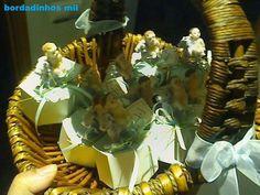 caixinha com sabonete batismo