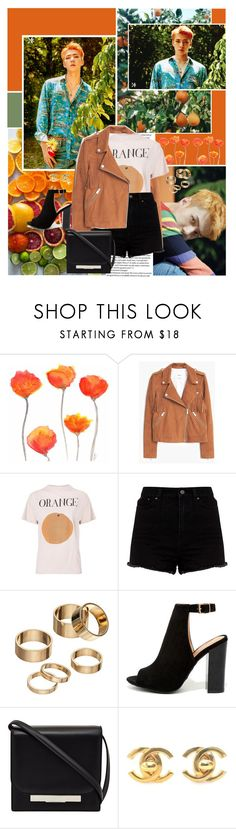 """🍊 This is my boy 🍊"" by angiielf ❤ liked on Polyvore featuring MANGO, Apt. 9, Bamboo, The Row, Chanel, kpop, EXO, Sehun, kpopboys and kokobop"