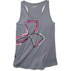Image for Under Armour® Girls' Distressed Big Logo Tank Top from Academy