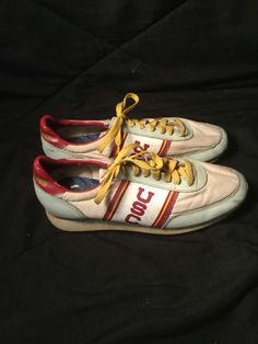 Vintage 1970's USC Trojans Cheer Shoes size 8.5 by 413productions on Etsy