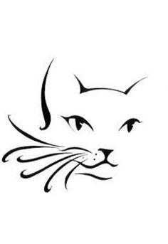 Afbeeldingsresultaat voor simple line drawing cat
