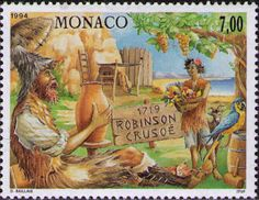 Literary Stamps: Defoe, Daniel (1659–1731)