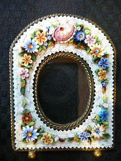 Beautiful Micro Mosaic Picture Frame | eBay