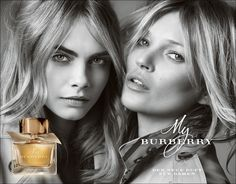 My Burberry - Kate Moss & Cara Delevingne