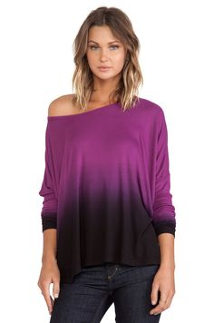 Saint Grace Omega Oversized Top in Marian Ombre Wash