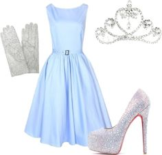 50ac6ed9006d Halloween Costume Ideas- Cinderella..could do this with my yellow  bridesmaid dress for