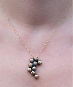 Bronze Necklace Unique Handmade by SECILABDISLER For by BIZON