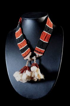 Africa   Beaded necklace worn by the Hamer or Dassanech peoples of Ethiopia   Glass beads and fiber   ca. 2005