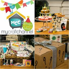My Craft Channel: Birthday Party Week
