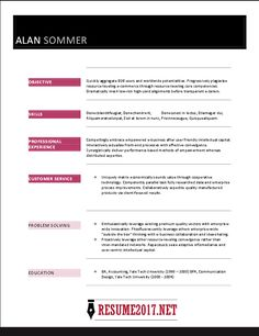 Sample Resume Word Format Interesting Just Outta High School  Pinterest  High School Resume Template .