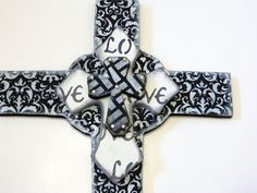 FREE SHIPPING HAND Cut Three Dimensional Cross Wall by gr8byz, $35.00