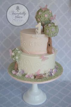Butterflies: Tastefully Yours Cake Art, facebook