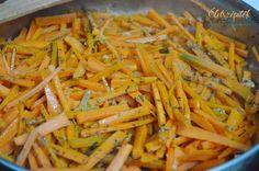 Vitamindús köret: mézes-fűszeres párolt sárgarépa | Életszépítők No Cook Meals, Meal Prep, Carrots, Side Dishes, Paleo, Food And Drink, Vegetables, Eat, Cooking