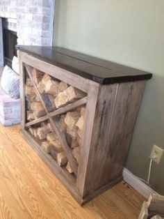 Interior Wood Rack | Do It Yourself Home Projects from Ana White