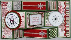 Memories & More: Club Kids Tri-fold Christmas Card, with Hazel