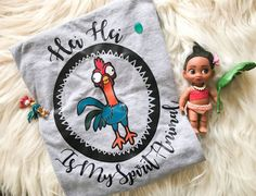 Hey, I found this really awesome Etsy listing at https://www.etsy.com/listing/497327498/hei-hei-is-my-spirit-animal-t-shirt