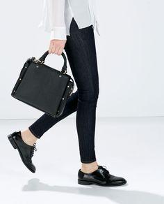 MINI CITY BAG from Zara heck ya Pinterest City bag Zara