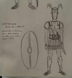 Centurion in 300-200 b.C.