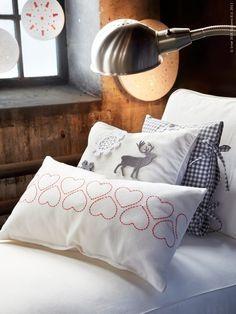 Knutselen voor kerst: nieuwe kussens | IKEA Family